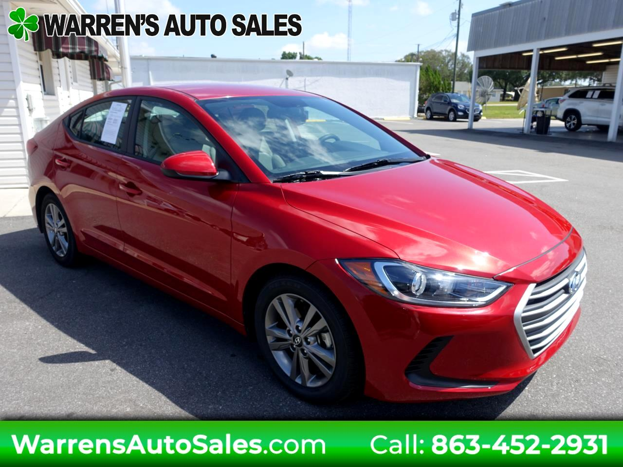 2017 Hyundai Elantra SE Popular Equipment
