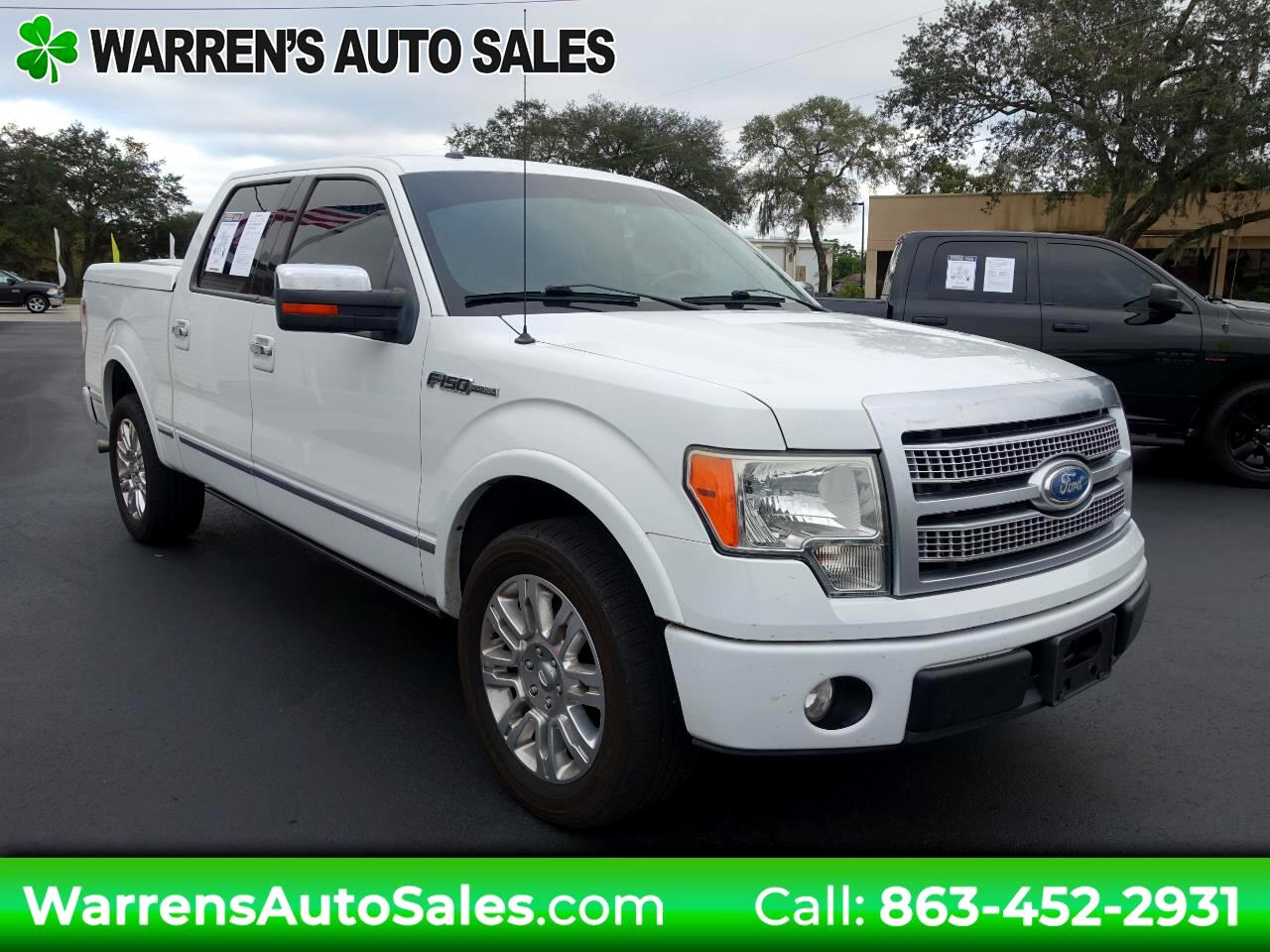 2009 Ford F-150 Platinum SuperCrew 5.5-ft Bed 2WD