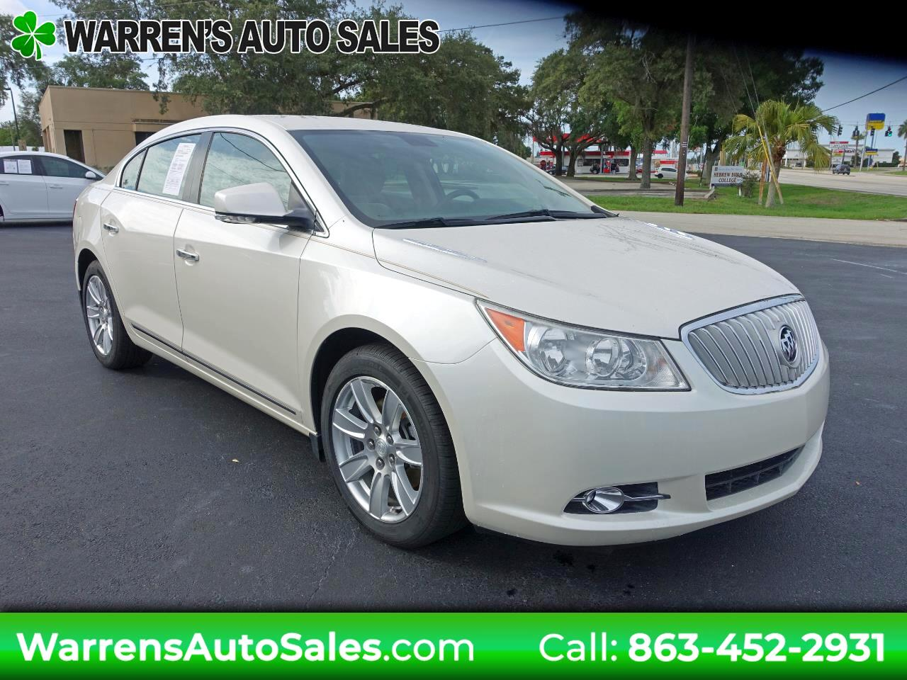 Buick LaCrosse Leather Package 2012