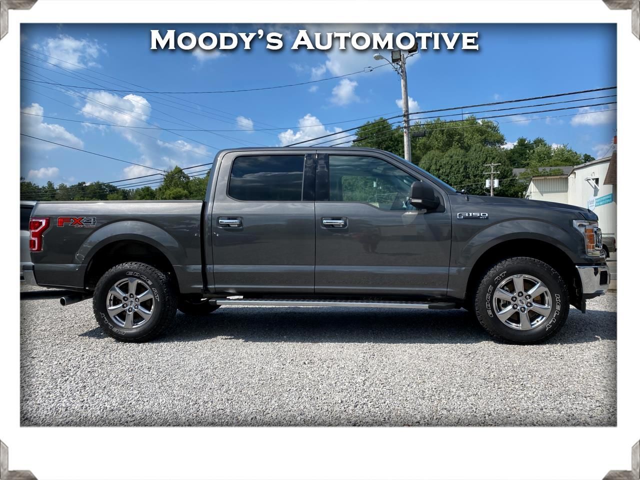 """Ford F-150 4WD SuperCab 145"""" FX4 2018"""