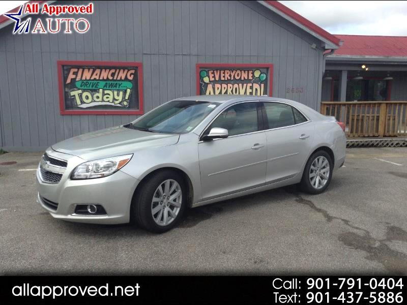All Approved Auto >> Buy Here Pay Here 2013 Chevrolet Malibu For Sale In Memphis