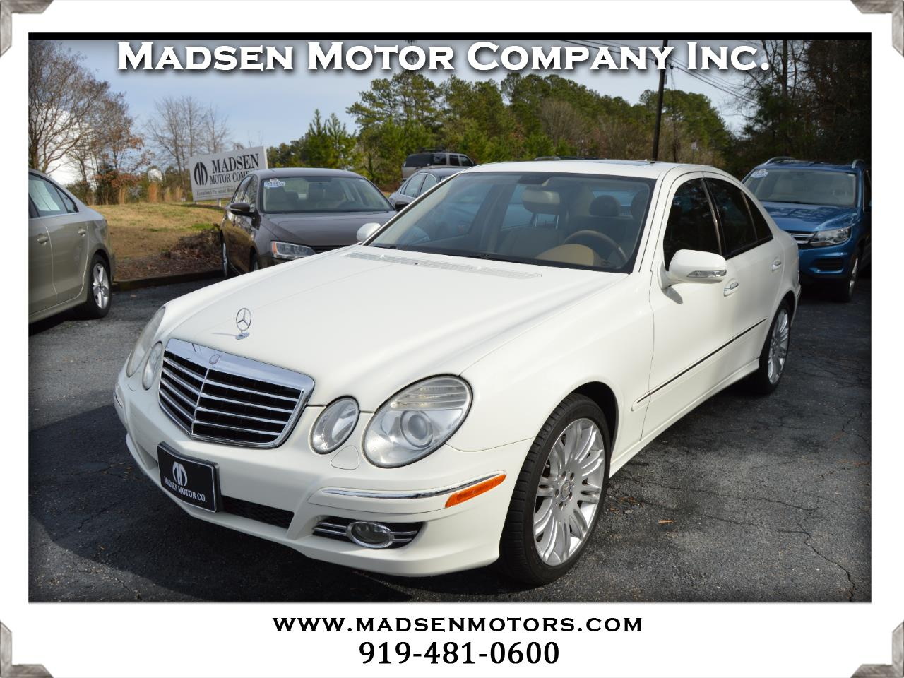 2008 Mercedes-Benz E-Class E350 Sport 4MATIC Sedan