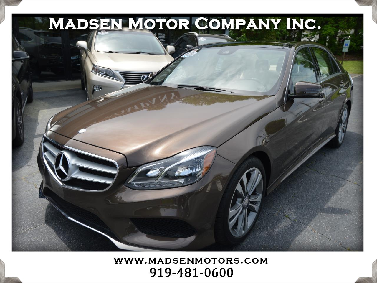 2016 Mercedes-Benz E-Class E350 Sport Sedan