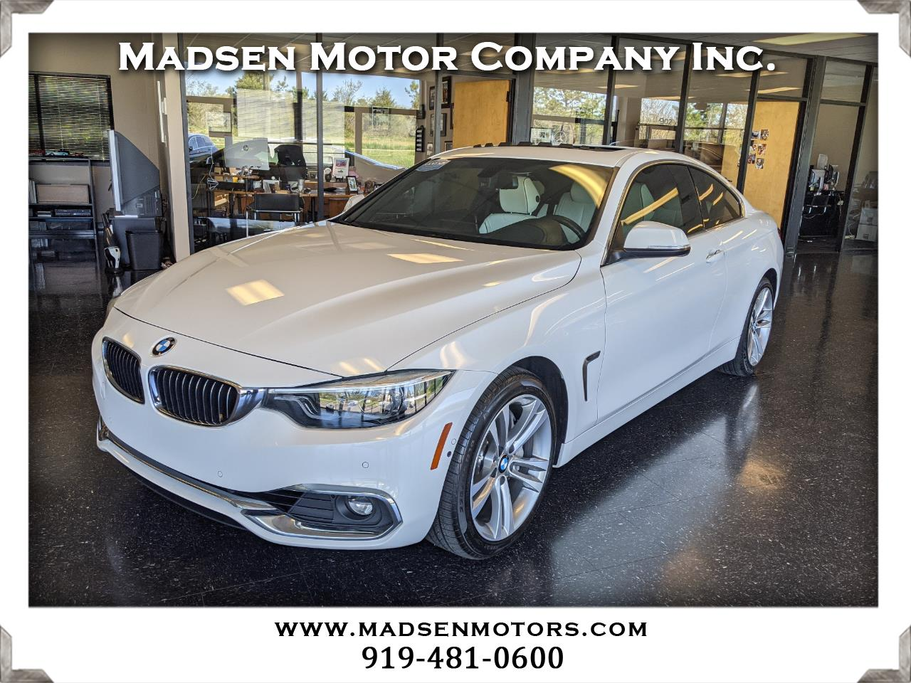 BMW 4-Series 440i xDrive coupe 2019