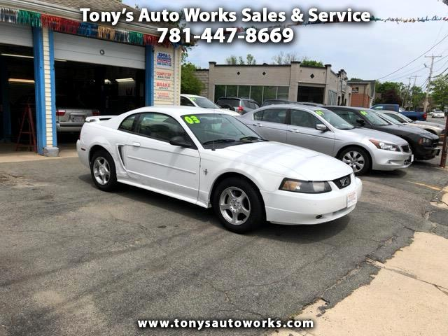 2003 Ford Mustang 2dr Cpe Deluxe