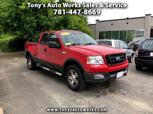 "2004 Ford F-150 Supercab 145"" FX4 4WD"