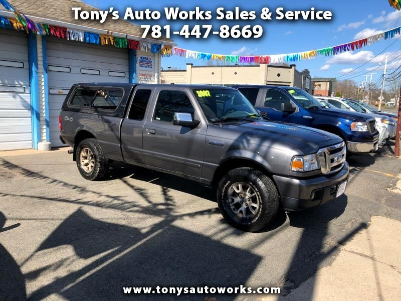 2007 Ford Ranger Sport SuperCab 4 Door 4WD