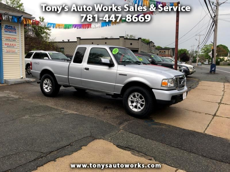 2009 Ford Ranger XLT SuperCab 4 Door 4WD