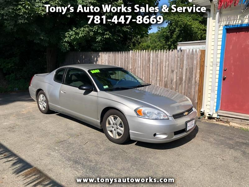 2007 Chevrolet Monte Carlo 2dr Coupe LS
