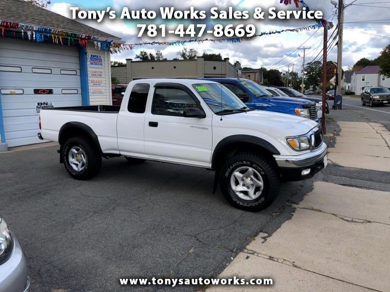 2002 Toyota Tacoma Xtracab V6 4WD