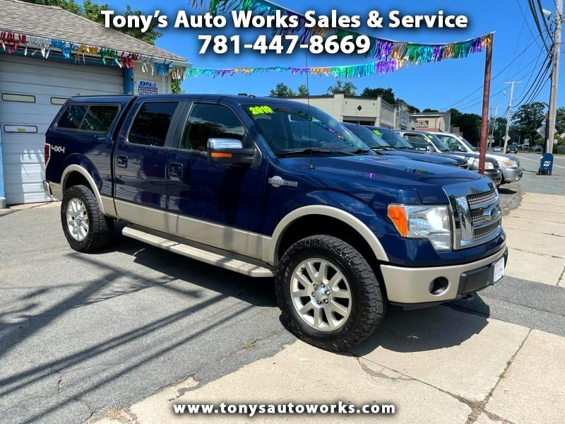 """Ford F-150 SuperCrew Crew Cab 139"""" King Ranch 4WD 2010"""