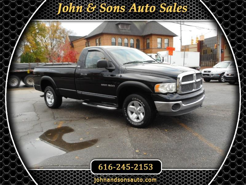 2002 Dodge Ram 1500 SLT Long Bed 4WD