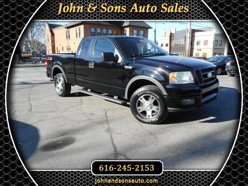 2005 Ford F-150 FX4 SuperCab 5.5-ft Box 4WD
