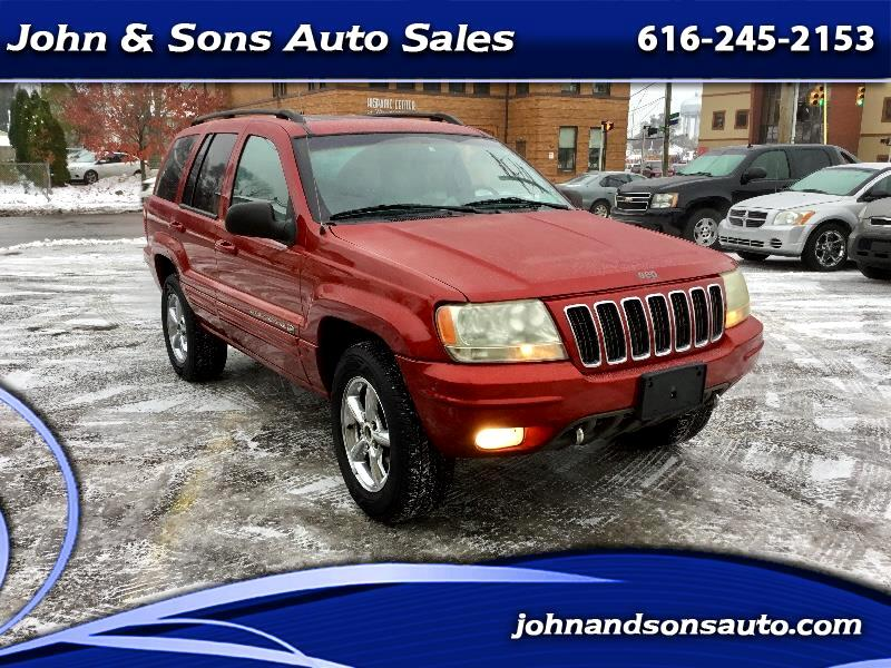 Jeep Grand Rapids >> Used 2002 Jeep Grand Cherokee Overland For Sale In Grand