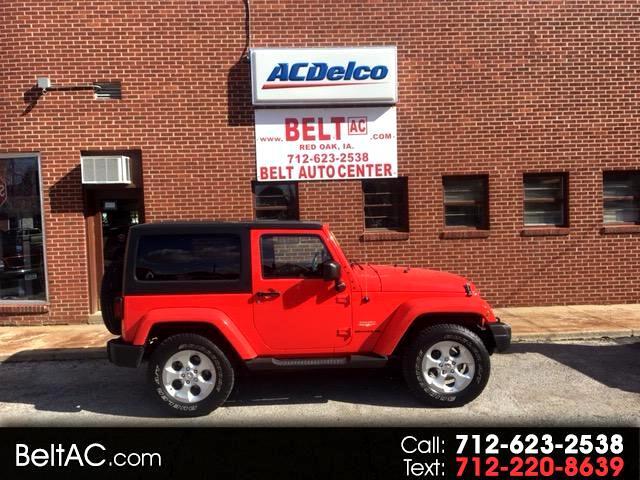 2013 Jeep Wrangler Sahara Sahara 2dr 4wd