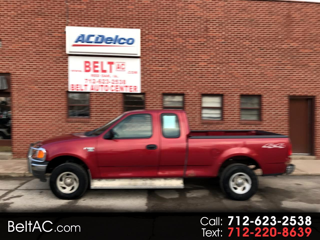 "2004 Ford F-150 Heritage Supercab 139"" XLT 4WD"