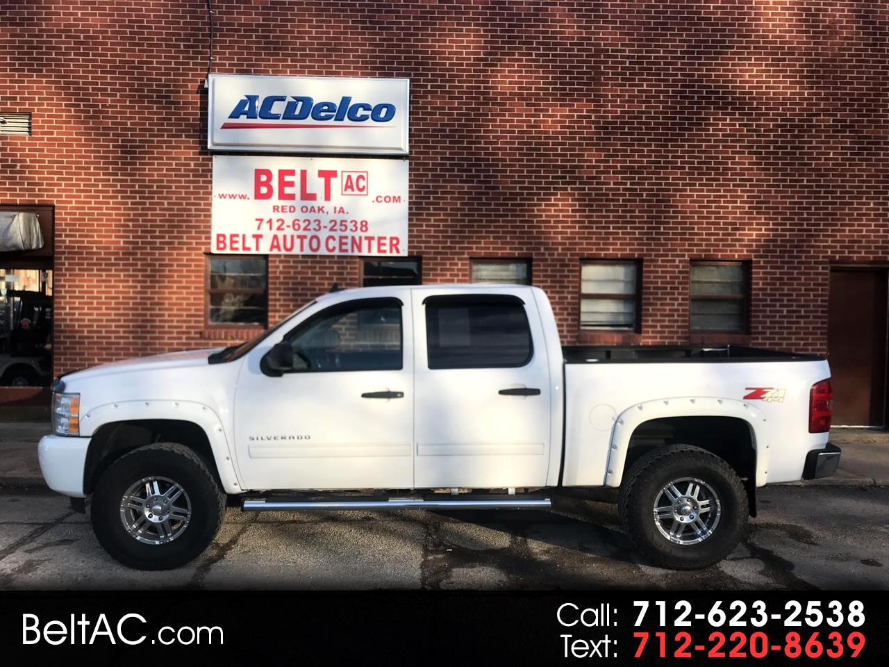 """Chevrolet Silverado 1500 4WD Crew Cab 143.5"""" LT 2010"""