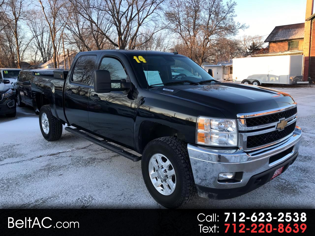 Chevrolet Silverado 2500HD Custom Crew Cab Short Box 4WD 2014