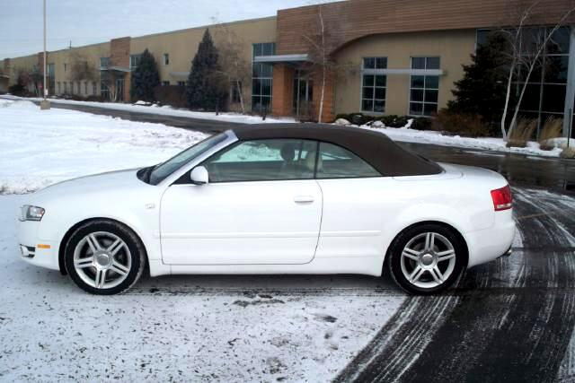 Audi A4 2.0T Cabriolet with Multitronic 2007