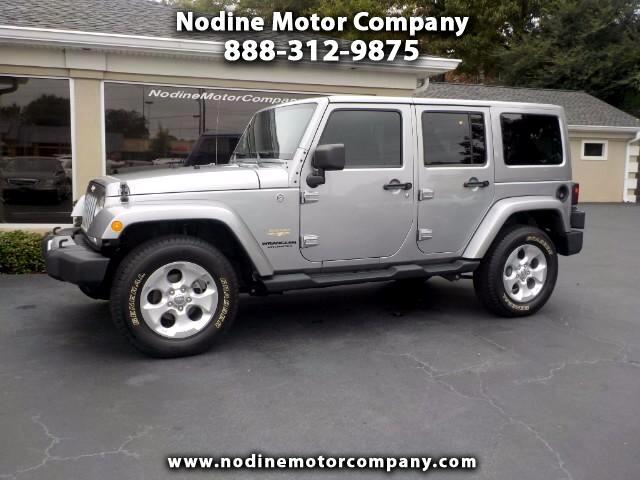 2013 Jeep Wrangler 4WD Unlimited Sahara, Navigation, Hard Top, Automa