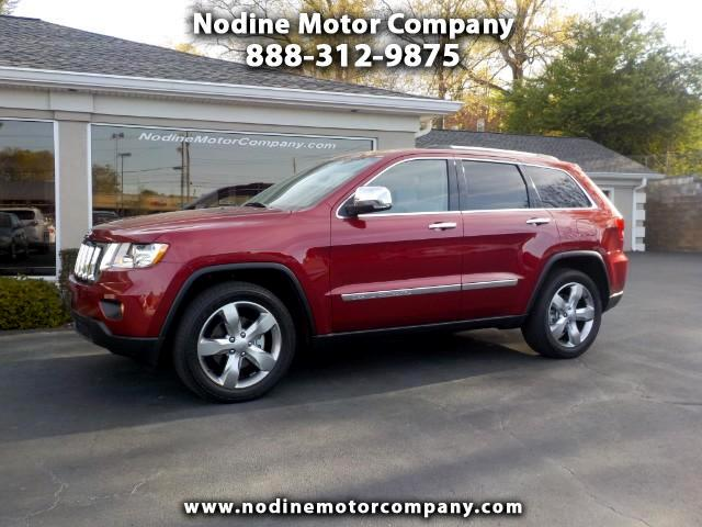 2013 Jeep Grand Cherokee Overland 4WD, Navigation, Lane change Montior, Cra