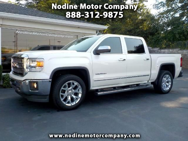 2015 GMC Sierra 1500 SLT Crew Cab, Navigation, Heat & Cooled Leather