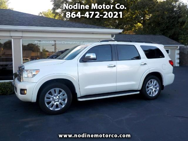 2014 Toyota Sequoia RWD 5.7L Platinum (Natl)