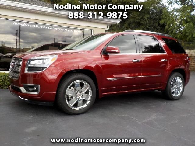 2015 GMC Acadia Denali Package, Navagation, Pano Roof, Blind Spot