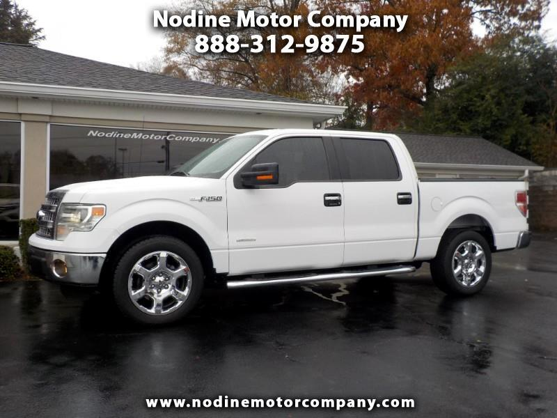2014 Ford F-150 2WD, Super Crew XLT, Leather, Back up Camera, Chro