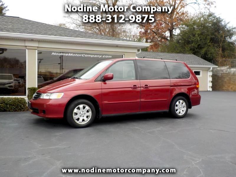 2002 Honda Odyssey 5dr EX-L w/Leather