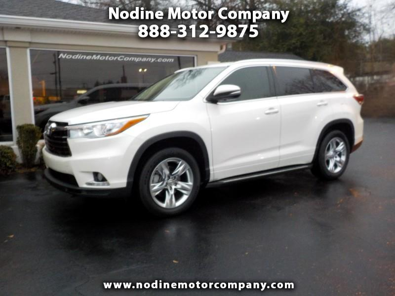 2015 Toyota Highlander FWD Limited, Navigation, DVD, Lane Change Monitor