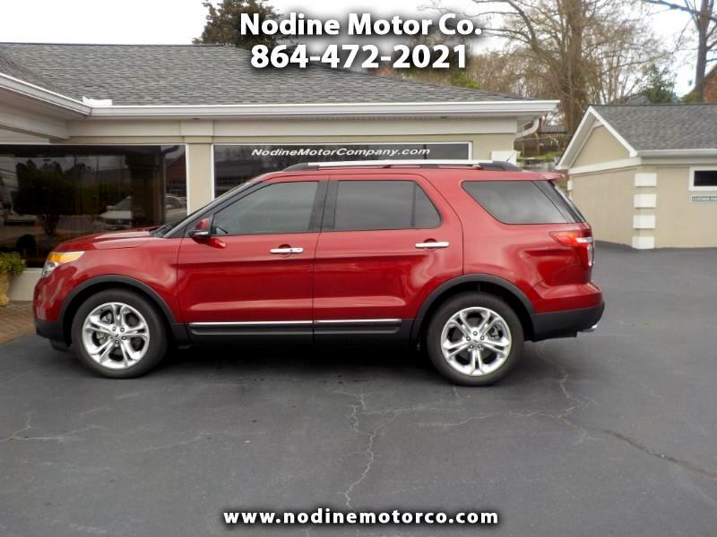 2015 Ford Explorer Limited Trin,Navigation, Heated Leather Seats, 7 P