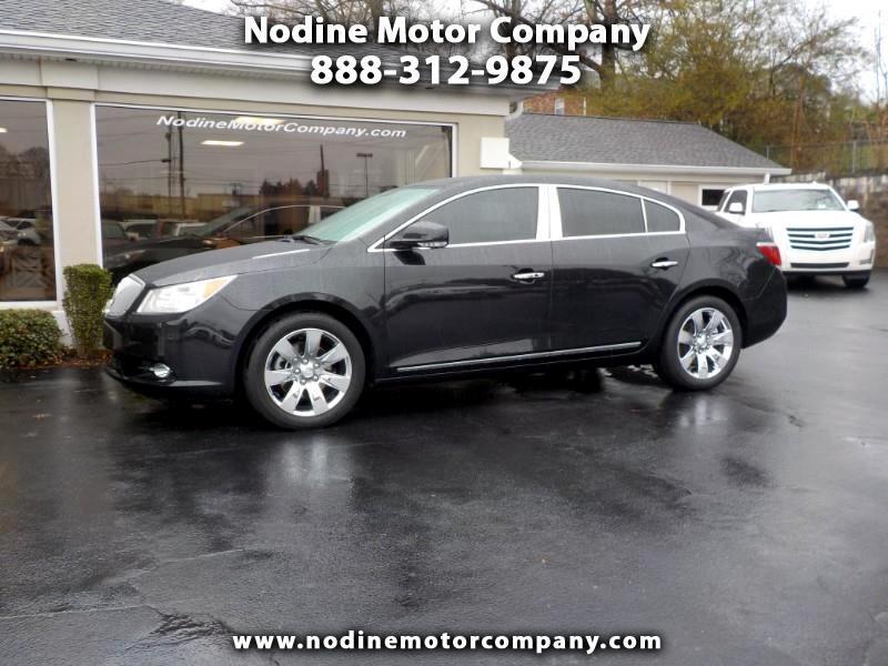2012 Buick LaCrosse Premium Trim, Navigation,Heat & Cooled Seats