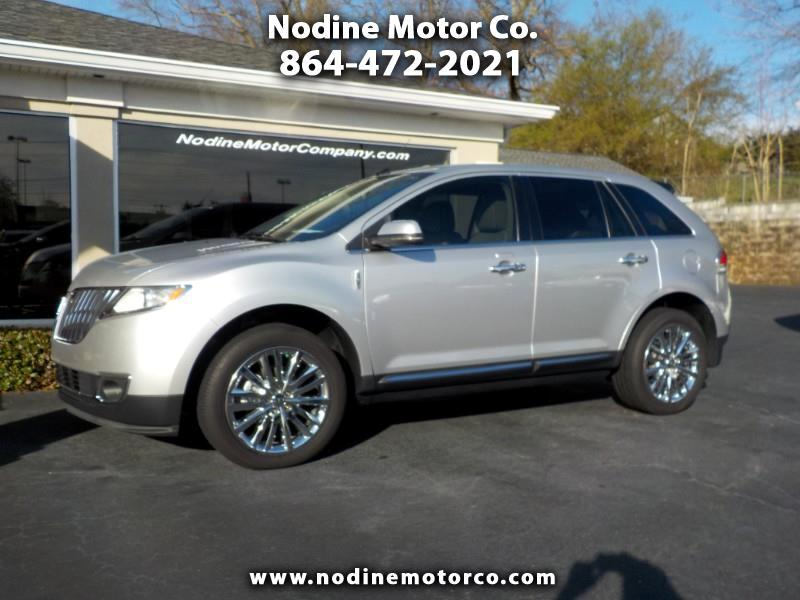 2013 Lincoln MKX Elite Trim Pkg, Heated & Cooled Leather Seats, Bac