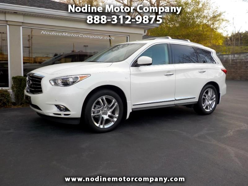 2015 Infiniti QX60 FWD NAVIGATION, DUAL DVDS, DUAL PANO SUNROOF, HEAT