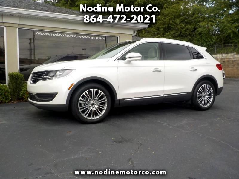 2016 Lincoln MKX Reserve, 3.7, Navagation, Pano Sunroof, Heat & Coo