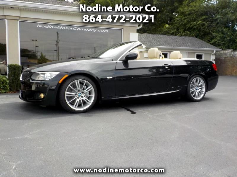 2011 BMW 3-Series 335i M Series Convertible, Navigation, Heated Leat