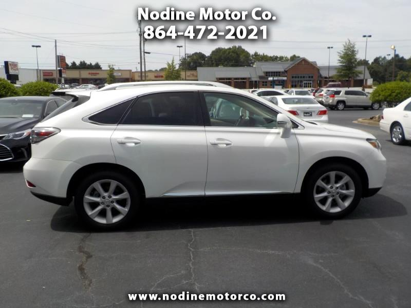 2012 Lexus RX 350 FWD, Premium Plus, Heat & Cooled Leather seats, Su