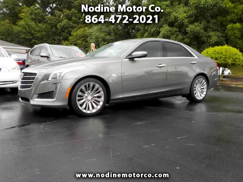 2016 Cadillac CTS Sedan 2.0L Turbo, Luxury Trim, Navagation, Pano Sunroof,