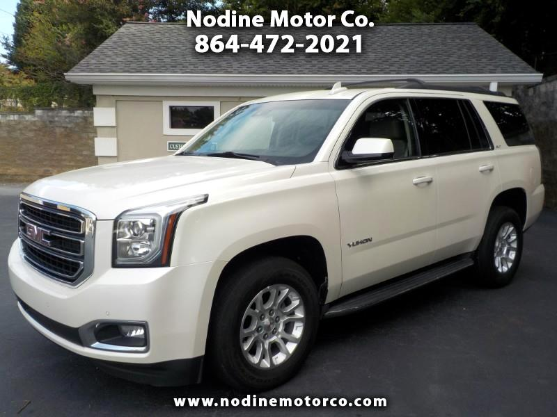2015 GMC Yukon 2WD, SLT, Navigation DVD, Sunroof, High Value Pack