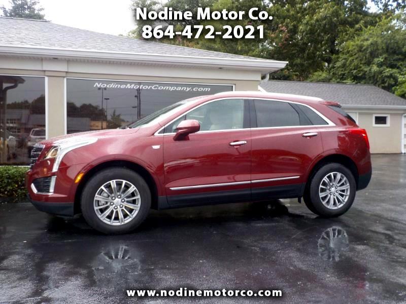 2017 Cadillac XT5 FWD, Luxury Trim, Navigation, Sunroof, Lane Change