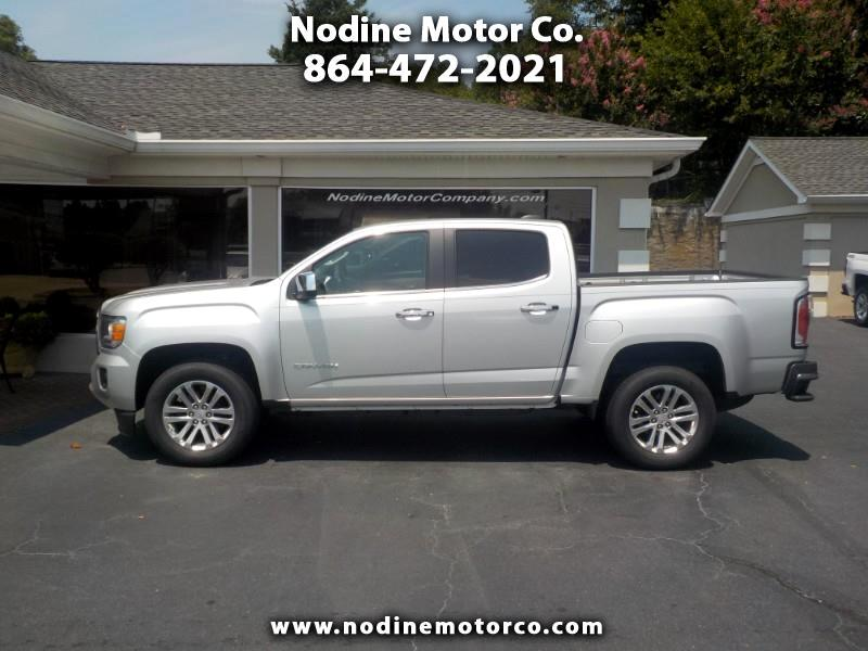 2016 GMC Canyon 2WD, Crew Cab, SLT, Navigation, Leather Heated Sea