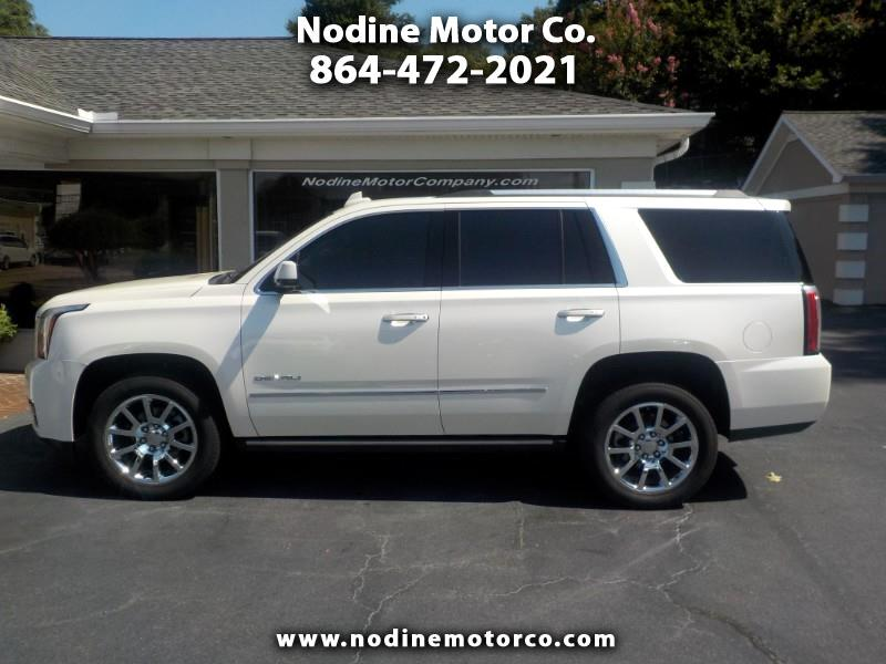 2015 GMC Yukon 4WD, Denali, Enterment Sys, Navigation, High Value
