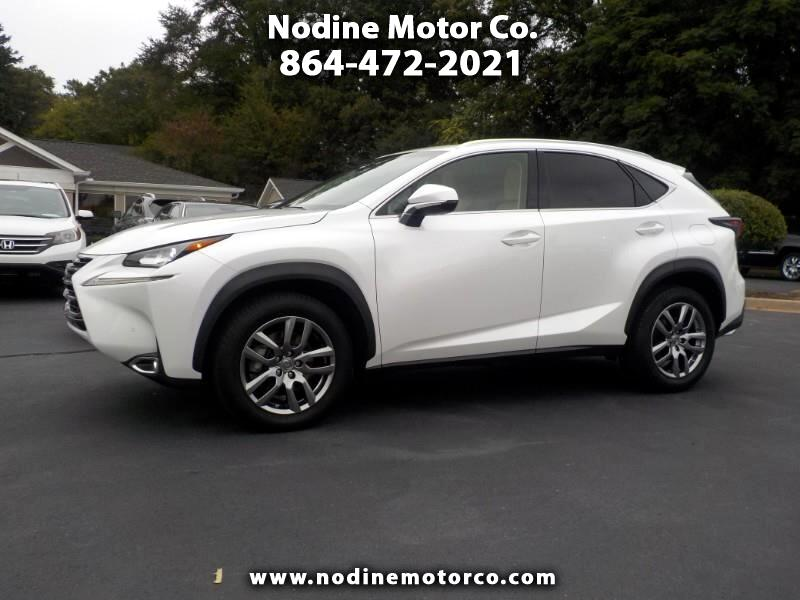 2015 Lexus NX 200t FWD, Premium, Navigation, Heat & Cooled Seats, Sun