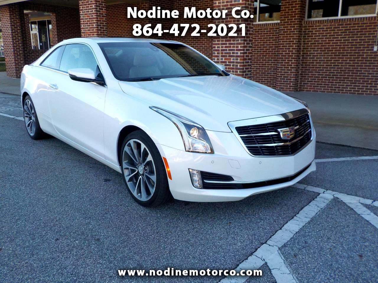 Cadillac ATS Coupe 2dr Cpe 3.6L Luxury RWD 2015
