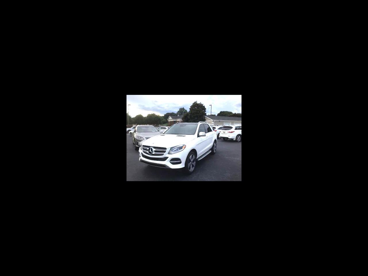Mercedes-Benz GLE GLE 350 SUV 2018