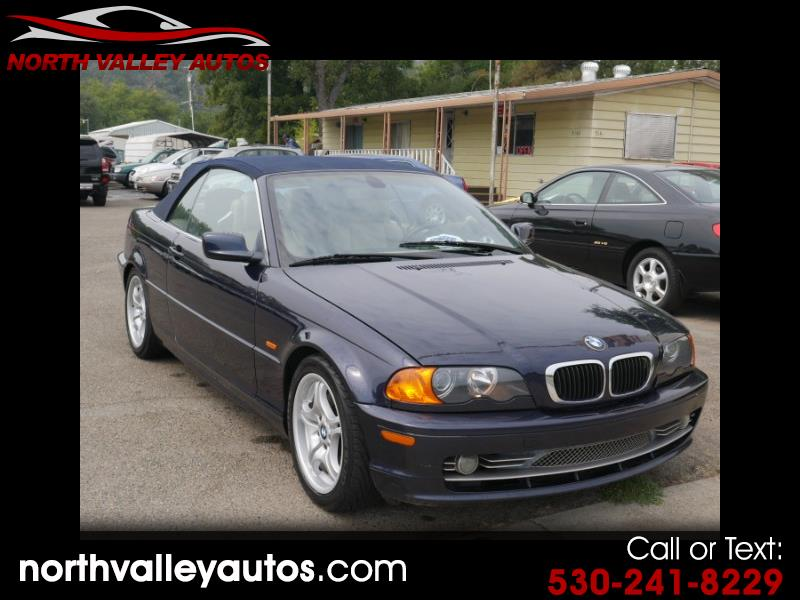 BMW 3-Series 330Ci convertible 2001