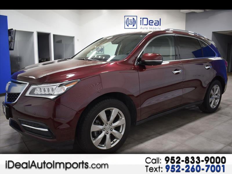 2016 Acura MDX AWD 4dr Advance/Entertainment Pkg