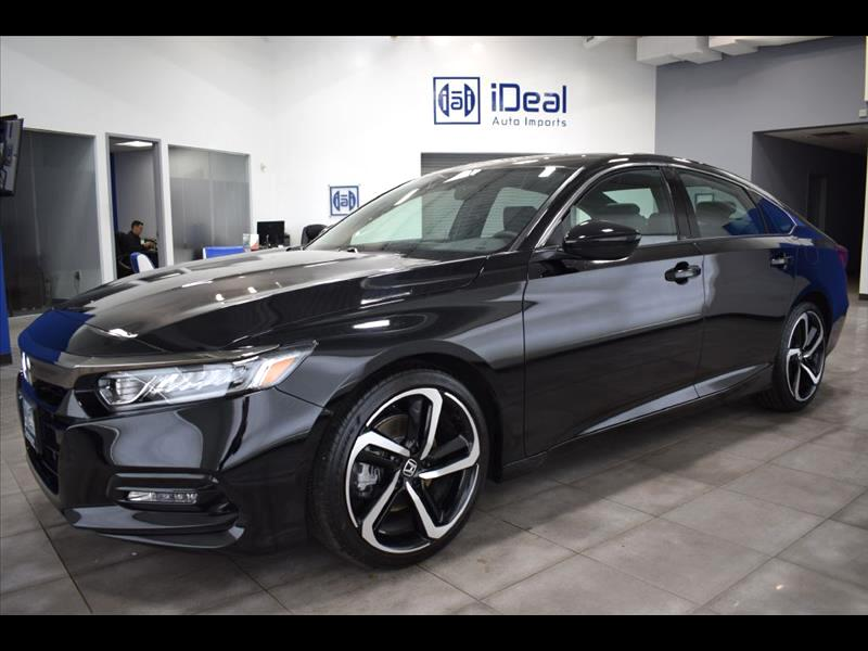 2018 Honda Accord Sport 2.0T 6M