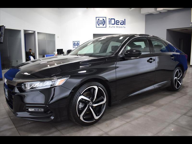 2018 Honda Accord Sport 2.0T 6M